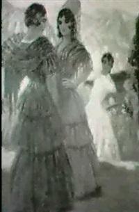 spanierinnen by vicente santaolaria