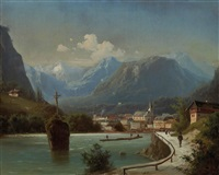 bad ischl by ferdinand lepie