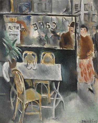 La Terrasse De Café By Vera Rockline On Artnet