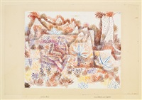 landschaft mit agaven by paul klee