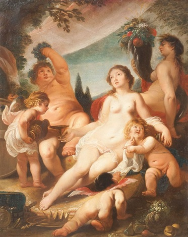 bacchanal by cornelis schut the elder