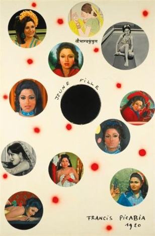 bindu after raza by atul dodiya