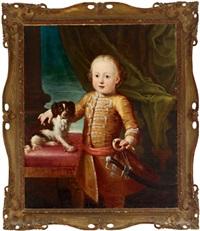 porträt des charles edward stuart, bonnie prince charlie by antonio david