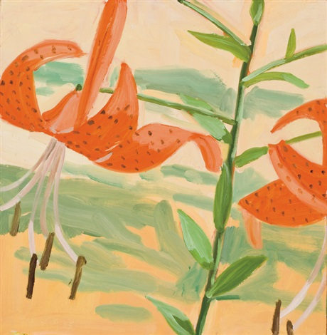 tiger lilies by alex katz