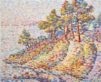 paysage et vue sur la mer by jeanne selmersheim-desgranges