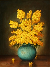 arrangement of mimosa by james noble