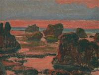 les rochers à ploumanac'h by jean françois aubertin