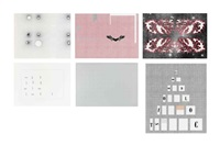 gagosian, poster edition (in 6 parts) by richard wright