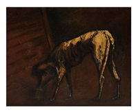 sin título (perro) by antonio rodríguez luna