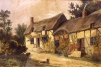 ann hathaway's cottage by samuel bough