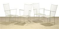 sonett armchairs (set of 4) by thomas lauterbach