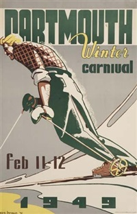 dartmouth winter carnival by posters: sports