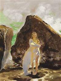 starfish, study for sophomore at bowdoin by jamie wyeth