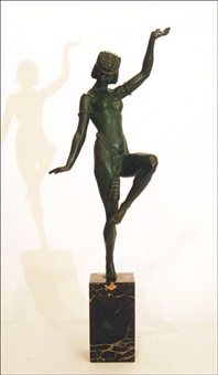 danseuse égyptienne by emile adolphe monier