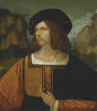 portrait of a man by giovanni agostino da lodi