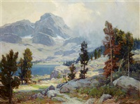 mount ritter, high sierras by jack wilkinson smith
