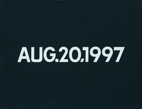 aug201997 by on kawara