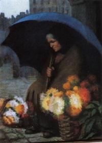 la fleuriste au parapluie by marie marguerite reol