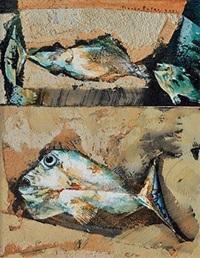 ikan di antara kerang iii (fish among clams iii) by gusti agung mangu putra