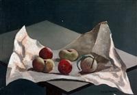 frutas en papel blanco by fortunato lacamera