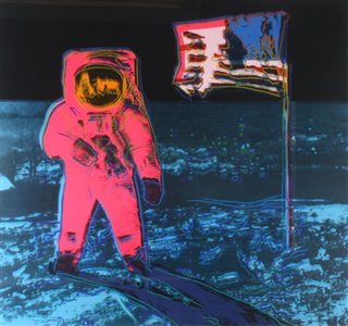 moonwalk pink by andy warhol