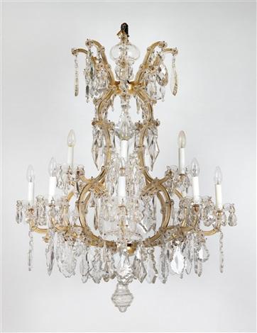 A lobmeyr chandelier of crown type by j l lobmeyr on artnet a lobmeyr chandelier of crown type by j l lobmeyr aloadofball Image collections