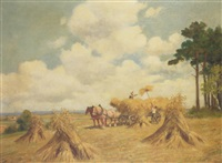 collecting the hay by a. hofmann