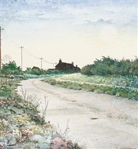 house on a deserted road by robert c. bates