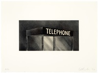 telephone (archi-props series) by ed ruscha