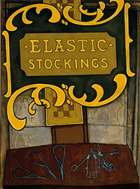 elastic stockings by john brack