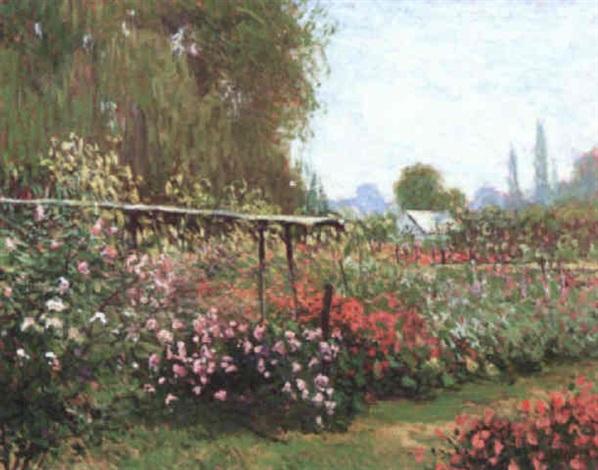 Le jardin fleuri by Luc Didier on artnet