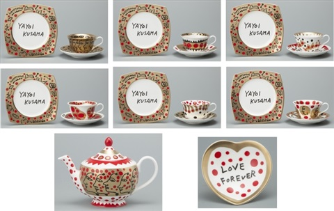 the me that i adore (grand set) by yayoi kusama