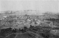 rome - vue prise au dessus du mont-celio by jean-baptiste arnout