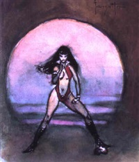 vampirella, no.1 by frank frazetta