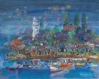 firework at fenerbahçe by mustafa pilevneli