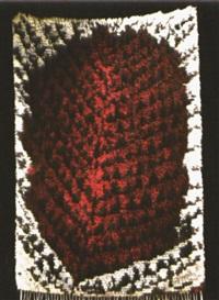 teppich metsässä palaa - burning forest by kirsti ilvessalo