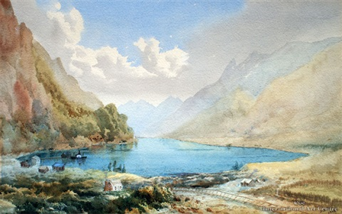 kingston lake wakatipu by james peele