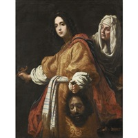 judith and holofernes (after cristofano allori) by cesare dandini