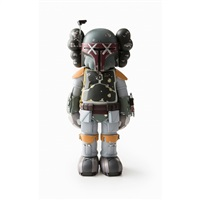 star wars boba fett(kaws version) by kaws