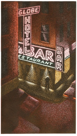 globe hotel bar 2 others 3 works by jane dickson