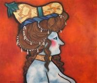 femme au chapeau by ricardo migliorisi