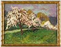 rozkvetlé stromy by otokar hurka