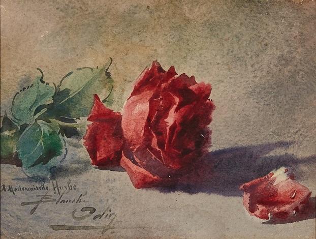 Rose et pétale by Blanche Odin on artnet