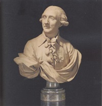 bust of a gentleman by clément jayet