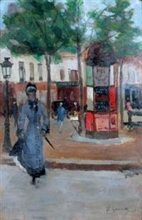 un coin de paris by norbert goeneutte