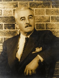 william faulkner by carl van vechten