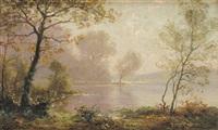 bord de rivière by albert gabriel rigolot