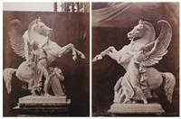 statues équestres, opéra garnier (2 works) by louis emile durandelle