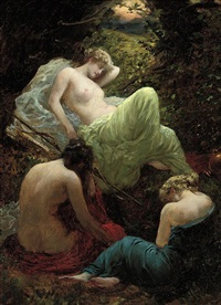 the siesta of diana by thomas benjamin kennington