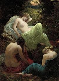 the siesta of diana by thomas benjamin kennington